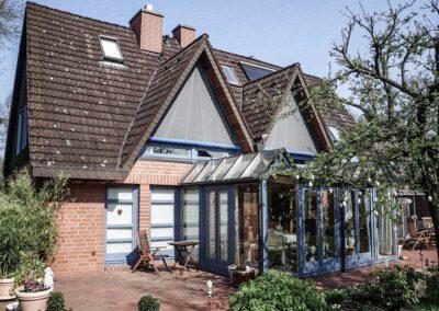 Gollnast Sonnenschutz Dreiecksmarkise und Wintergarten